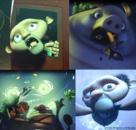 VIDEOFUN - Burp: Um fazendeiro, um porco e ETs em uma animação super engraçada!
