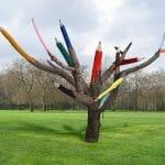 Design: Árvore Lápis de Cor