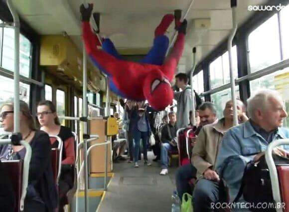 VIDEOFUN - As Aventuras de Spider-Man na Polônia
