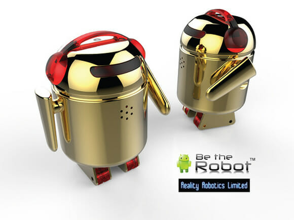 BERO - Mini robôs Android controlados por smartphones Android