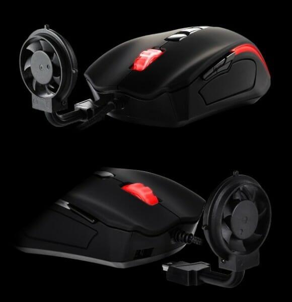 Mouse com cooler integrado refresca as mãos dos gamers em dias de calor