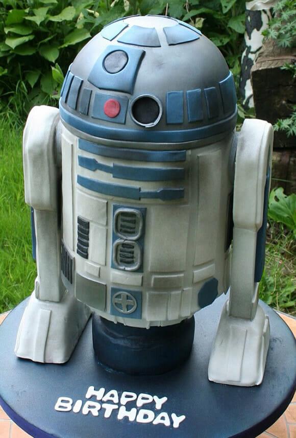 Cozinha geek: Bolo incrível do R2-D2!
