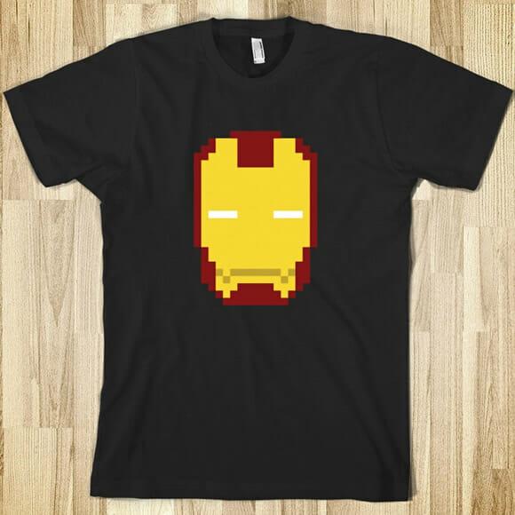 Moda geek: Camisetas com estampas 8-bits
