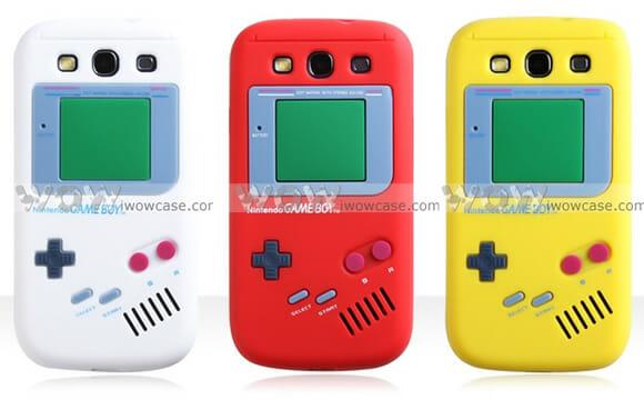 """Capa Game Boy para Samsung Galaxy S3 deixa o smartphone com """"a cara"""" do portátil"""