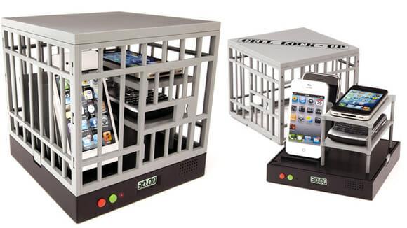 """Cell Lock-Up mantém seu smartphone na """"prisão"""" para aumentar sua produtividade"""