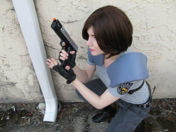 Cosplay Jill Valentine de Resident Evil