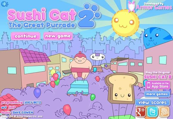 GAMEFUN - Sushi Cat 2 The Great Purrade