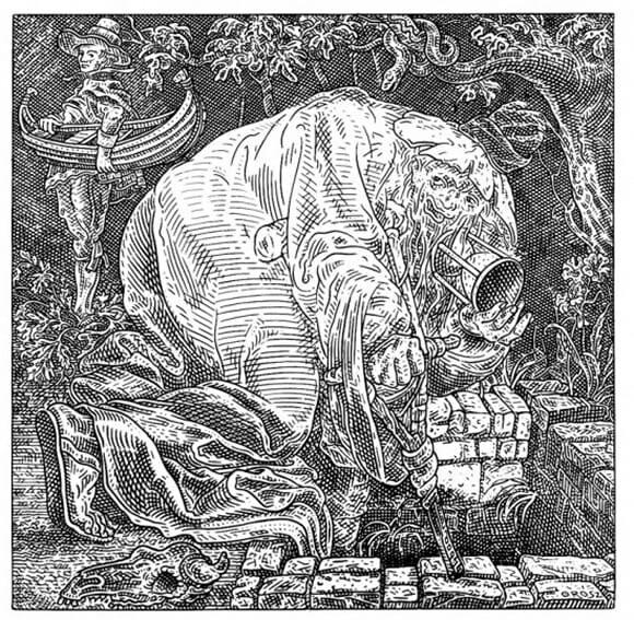 Ilusão de ótica: Cenas se transformam em crânios