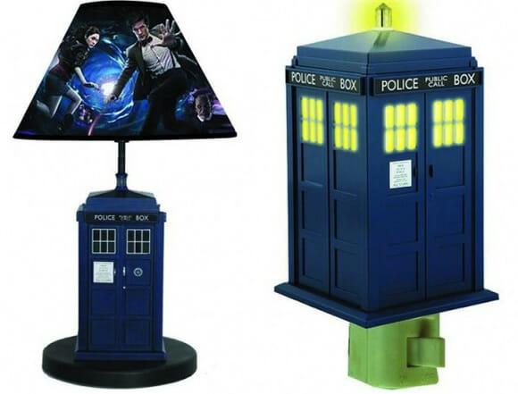 Luminária e luz noturna TARDIS para fãs de Doctor Who