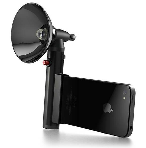 Chega de fotos escuras! Acessório Paparazzo oferece flash decente para seu iPhone