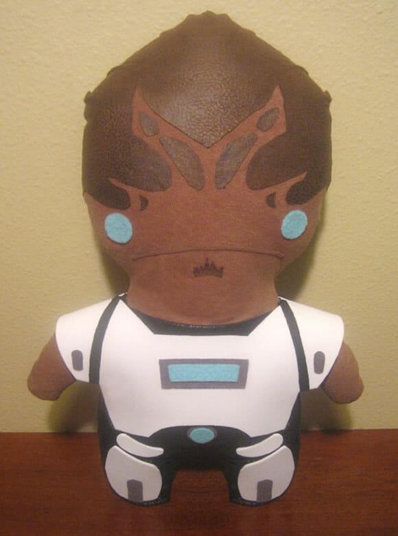 Pelúcias dos personagens de Mass Effect