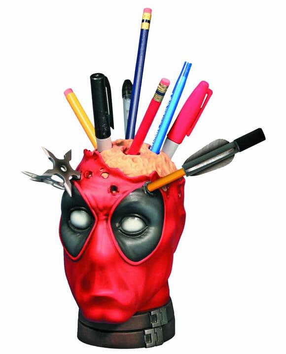 Porta-canetas do Deadpool