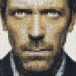 Retratos incríveis feitos com teclas de computador