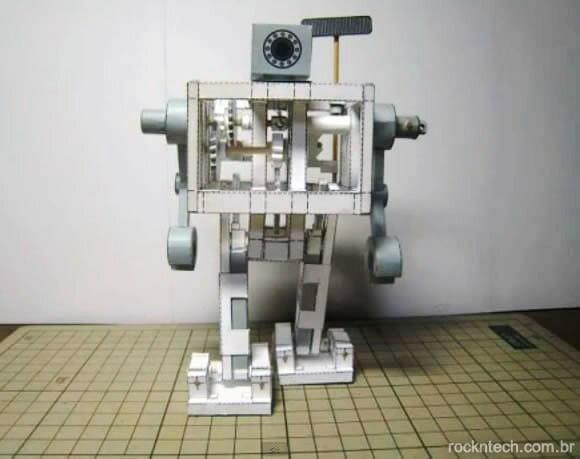 Favoritos Japonês constrói robô feito de papel que se movimenta sozinho sem  YZ42