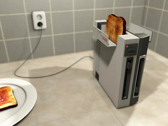 Torradeira Nintendinho 8-Bits - O que todo geek sonha ter no café da manhã!