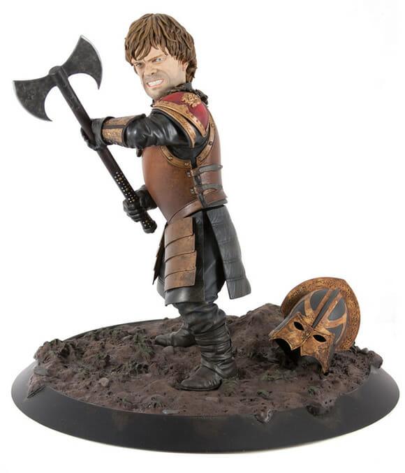 Proteja sua mesa com uma estátua de Tyrion Lannister de Game of Thrones!