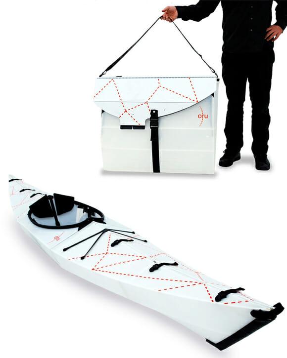 Caiaque Origami, um Caiaque Fácil de Transportar