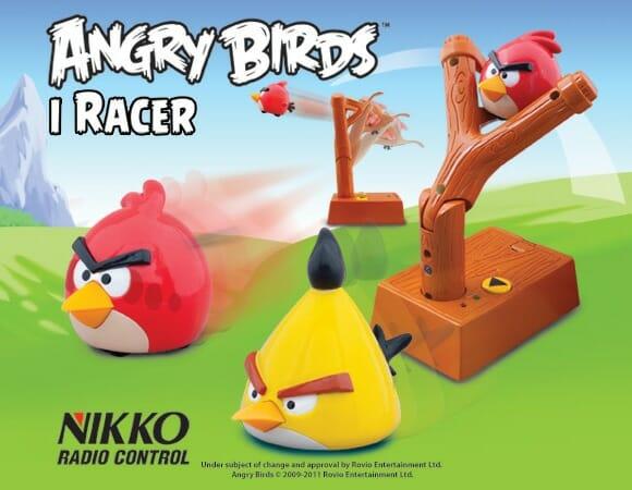 Angry Birds iRacer de controle remoto coloca os pássaros para correr! (vídeo)