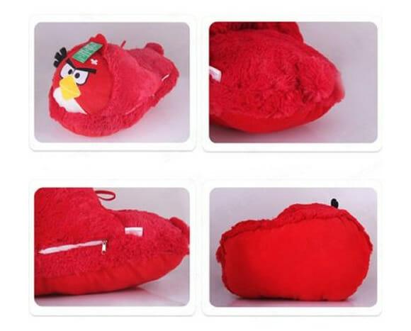 Red Bird USB do Angry Birds mantém seus pés aquecidos em dias frios