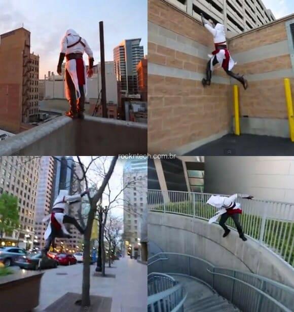 VIDEOFUN - Assassin's Creed na vida real