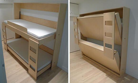 Beliche dobrável é a solução perfeita para casas pequenas