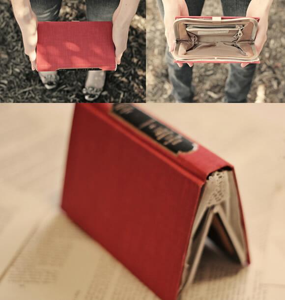 Bolsa-livro - Não julgue o livro pela capa