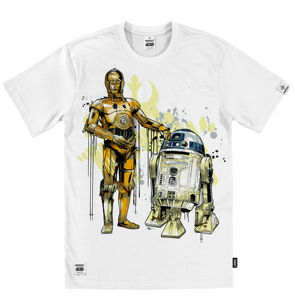 Camisetas incríveis com estampas de personagens da saga Star Wars