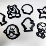Cortadores de biscoitos do Super Mario o/
