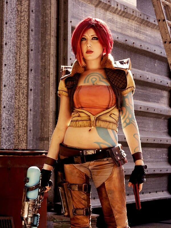 cosplay lilith de borderlands rockn tech