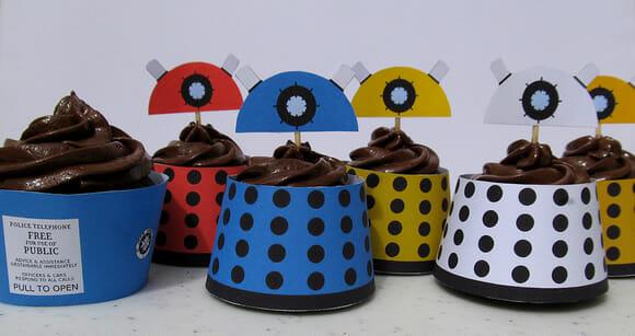 FOTOFUN - Cupcakes Daleks