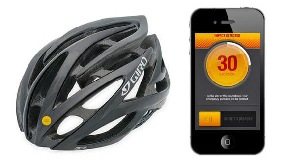 Sensor inteligente para ciclistas chama o socorro em caso de acidente através do smartphone