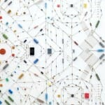 Artista transforma componentes eletrônicos em obras de arte