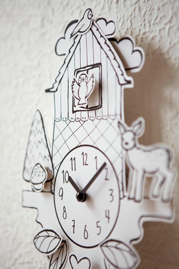14dda0f1e9b Paper Cuckoo - O relógio de papel