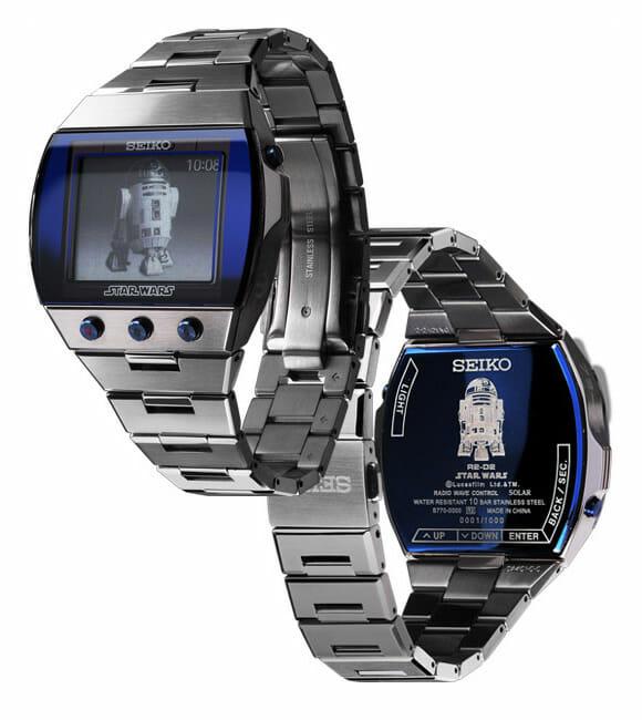 Nova linha de relógios de pulso da Seiko inspirados em Star Wars