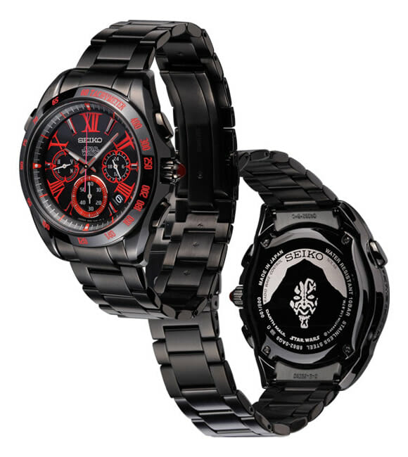 df5ccfcac Nova linha de relógios de pulso da Seiko inspirados em Star Wars ...