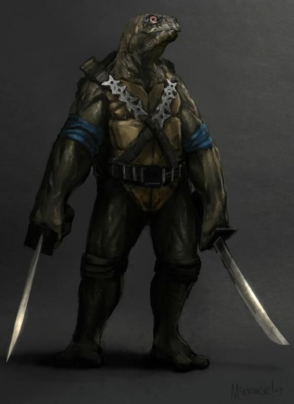 Tartarugas Ninjas realistas