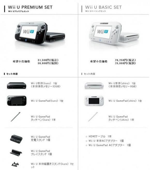 Nintendo revela informações sobre preço e data de lançamento do Wii U