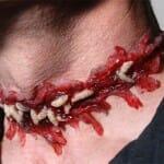 Acessórios sanguinários e nojentos para o Halloween