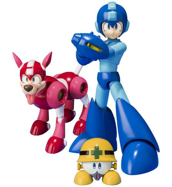 Edição de aniversário de action figures Mega Man pra comemorar os 25 anos da franquia