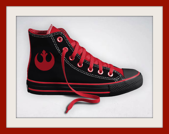 All Stars customizados baseados em Star Wars e Supernatural