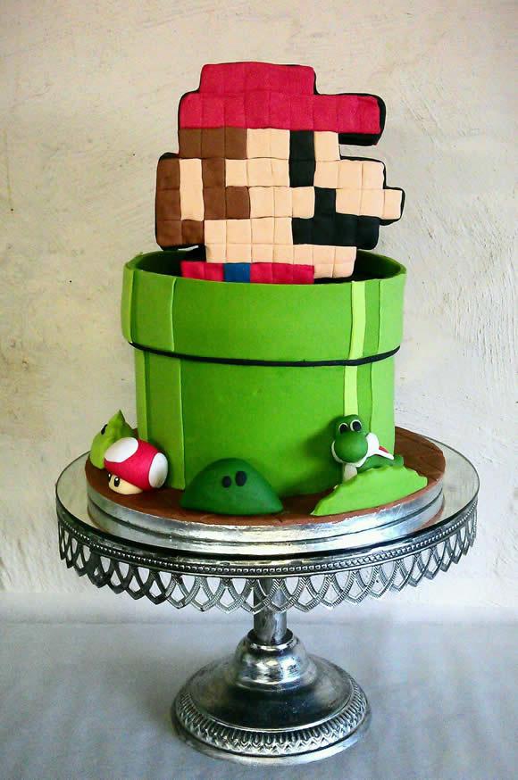 Bolo Super Mario 8-Bits