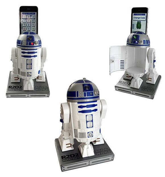 Cofre inteligente do R2-D2 utiliza seu smartphone para proteger os seus pertences