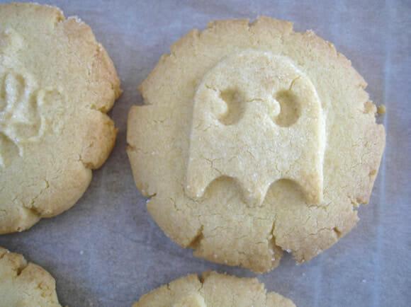 Cortador de biscoitos dos fantasmas do Pac-Man