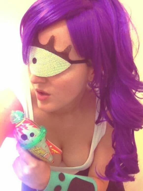 Inspiração para o Halloween: Cosplay Leela de Futurama