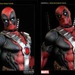 Desejo Nerd do dia: Estátua magnífica de Deadpool by Sideshow Collectibles