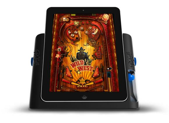 Acessório especial transforma seu iPad em uma máquina de Pinball, ou quase isso...