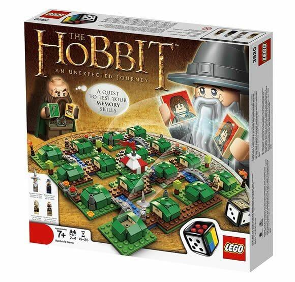 LEGO lança jogo de tabuleiro inspirado no filme O Hobbit