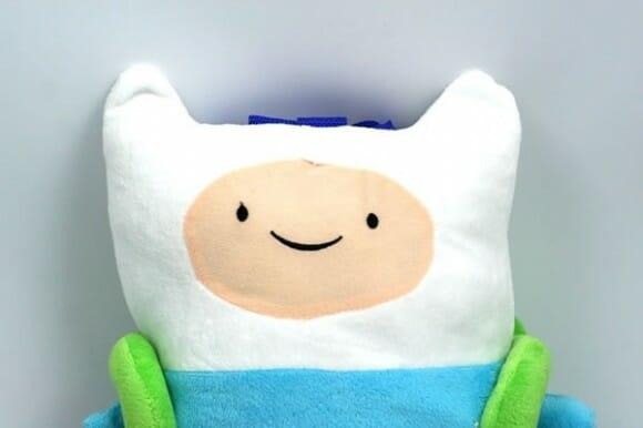 É Hora de Aventura com a mochila do Finn!
