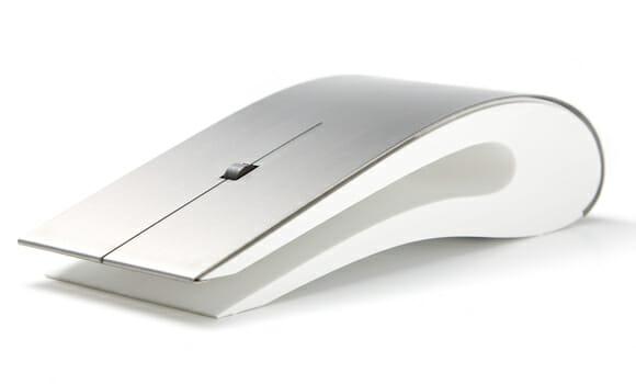 Titanium Mouse da Intelligent Design é elegante, minimalista e é claro, feito de titânio