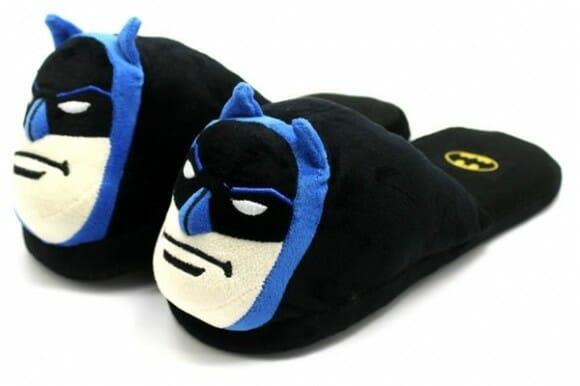 Bat Pantufas - Pantufas do Batman para os pés dos geeks